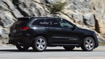 2018 Jeep Grand Cherokee Trackhawk spy photo