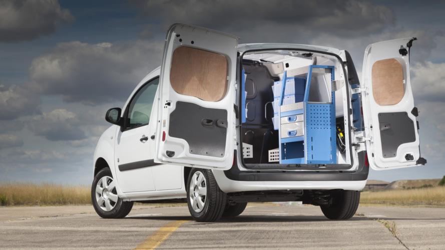 Renault Kangoo'ya İngiltere'de alet edevat depolama çözümleri geldi