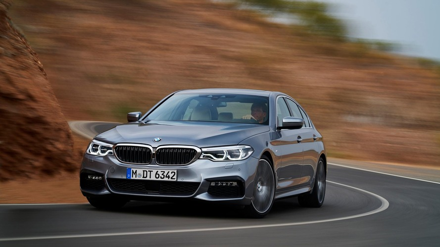 2017 BMW 5 Series is a high-tech sedan in an understated package