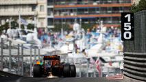 Daniel Ricciardo, Red Bull Racing RB12 envoie des étincelles