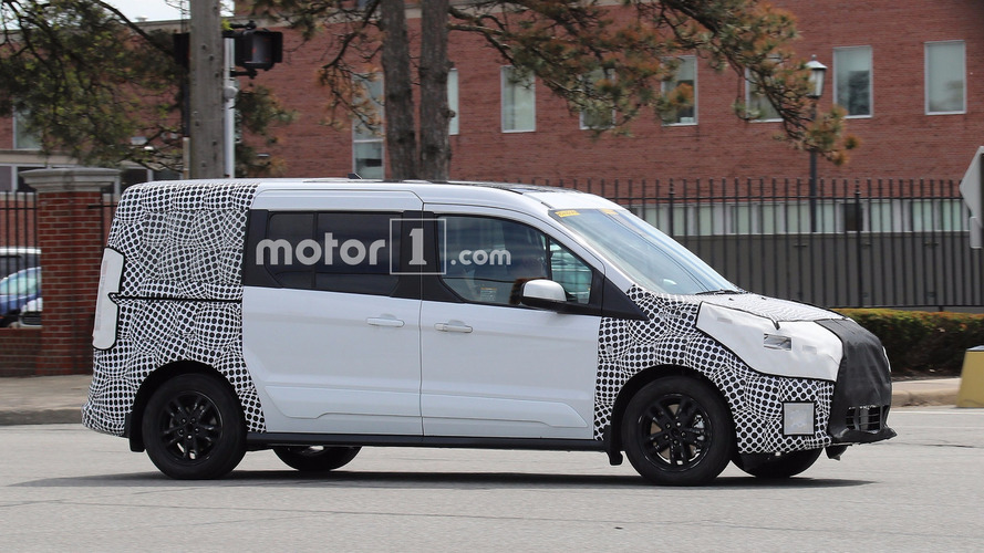 Ford Transit Connect's Facelift Spied Cruising The Streets