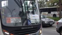 Maio Amarelo nos ônibus de São Paulo