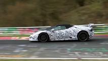 Lamborghini Huracan Performante Spyder Video espía