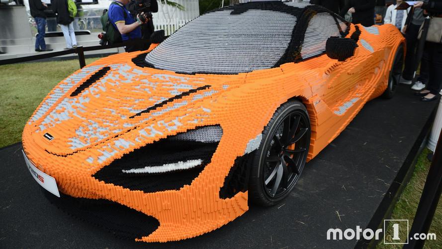 Goodwood 2017 – Une McLaren 720S à 280'000 briques... de Lego !
