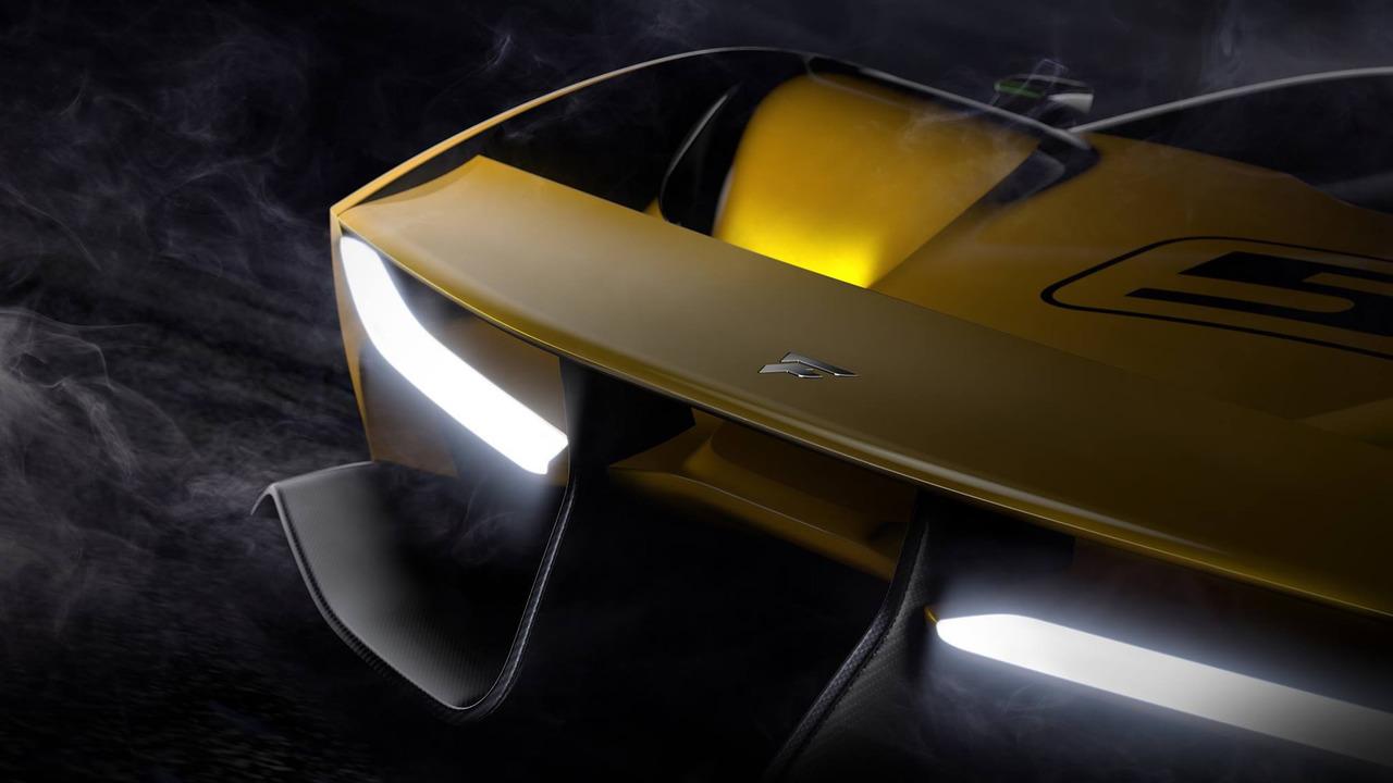 Pininfarina imzalı Fittipaldi EF7 Vision Gran Turismo teaser'ları