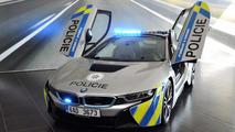 BMW i8 policía checa