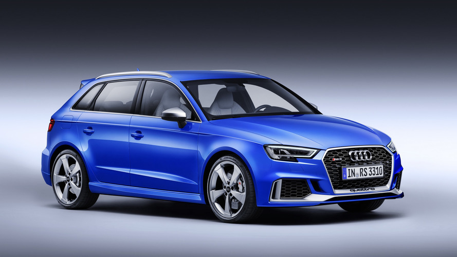 2017 Audi RS3 Sportback facelift heading to Geneva with 400 hp