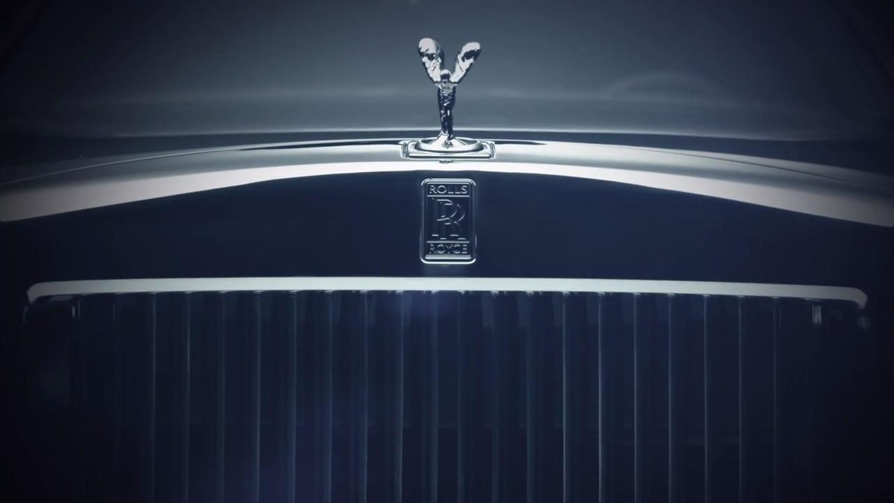 Rolls-Royce Phantom 2017 teaser