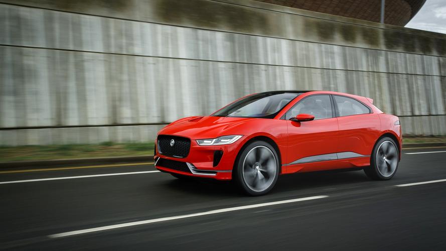Jaguar I-Pace Tanulmány