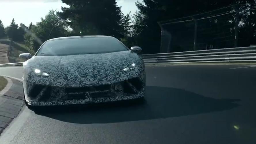 Nürburgring'in yeni kralı Lamborghini Huracan Performante!