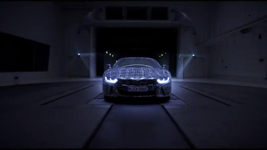2018 BMW i8 Roadster teasers