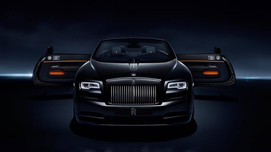 Rolls-Royce Dawn Black Badge - for younger patrons