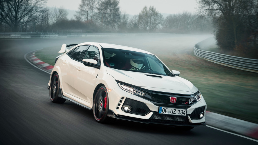 Honda Civic Type R bate recorde em Nürburgring