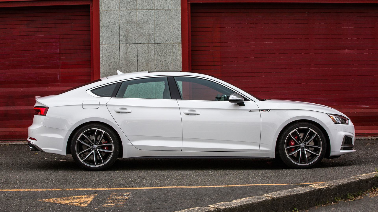 Audi A5 2017 White Autos Post
