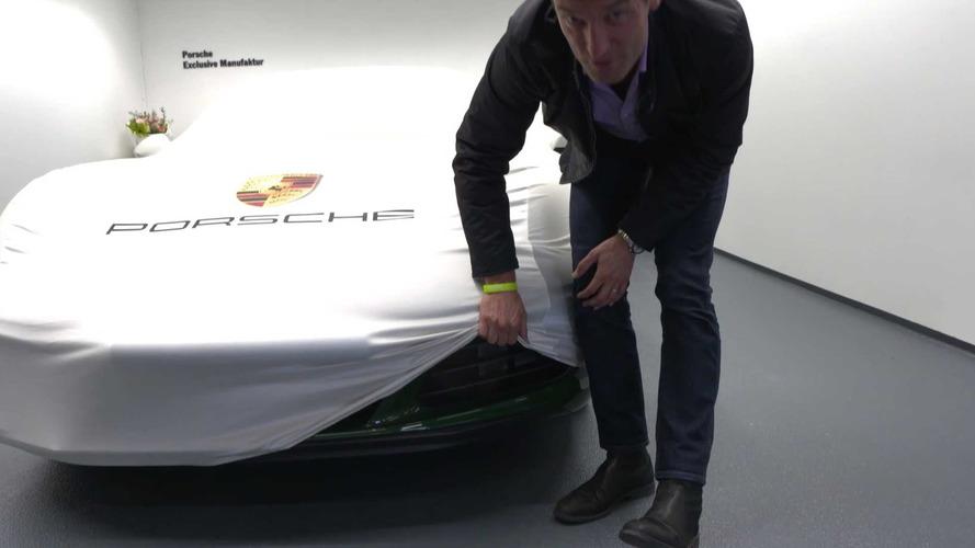 Mark Webber Teases New Porsche Exclusive Model