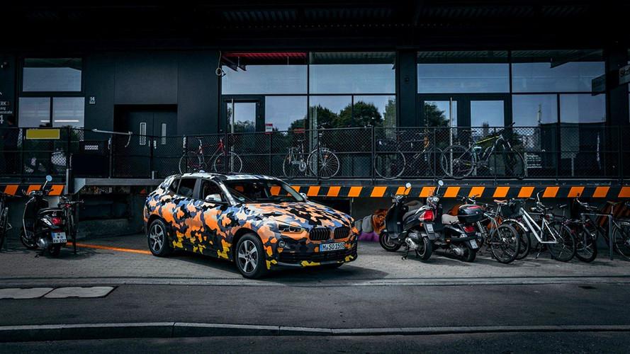 2018 BMW X2 seri üretime hazır ama kamuflajlı!