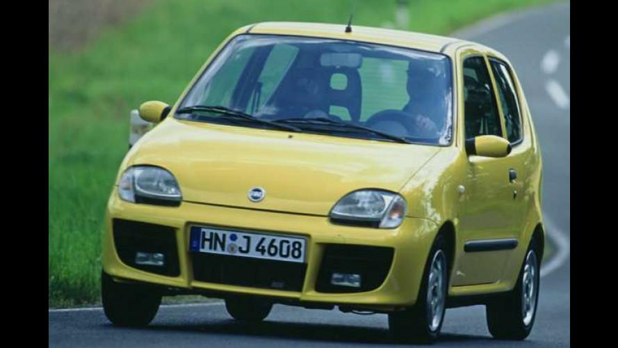 Fiat Seicento noch bis Jahresende - und nochmal billiger