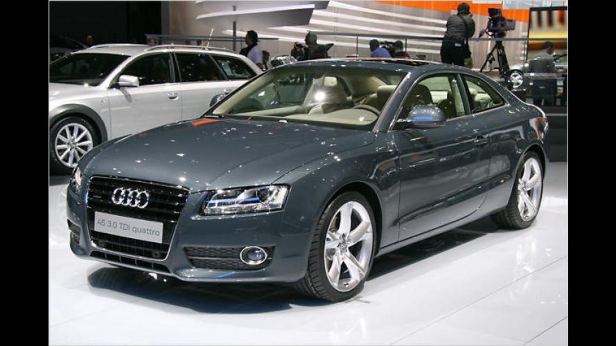 Audi gibt Preise für den A5 und den sportlichen S5 bekannt