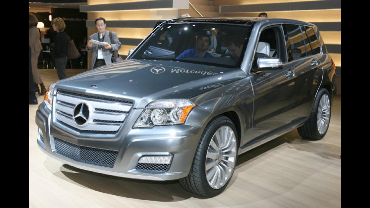 Mercedes Vision GLK Townside