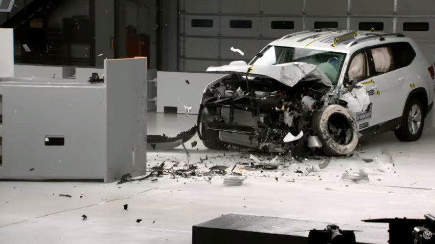 2018 VW Atlas IIHS test