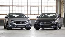 2017 Honda Civic Si vs. 2017 Hyundai Elantra Sport