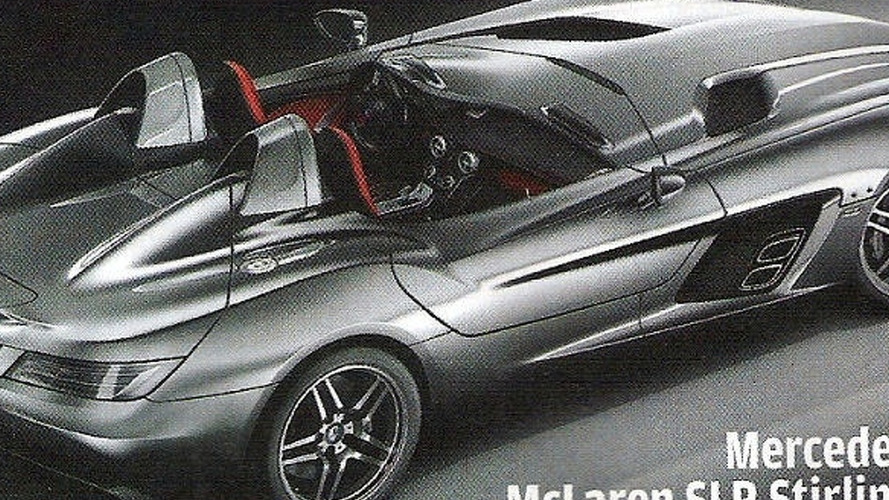 Mercedes SLR McLaren Stirling Moss scans leaked