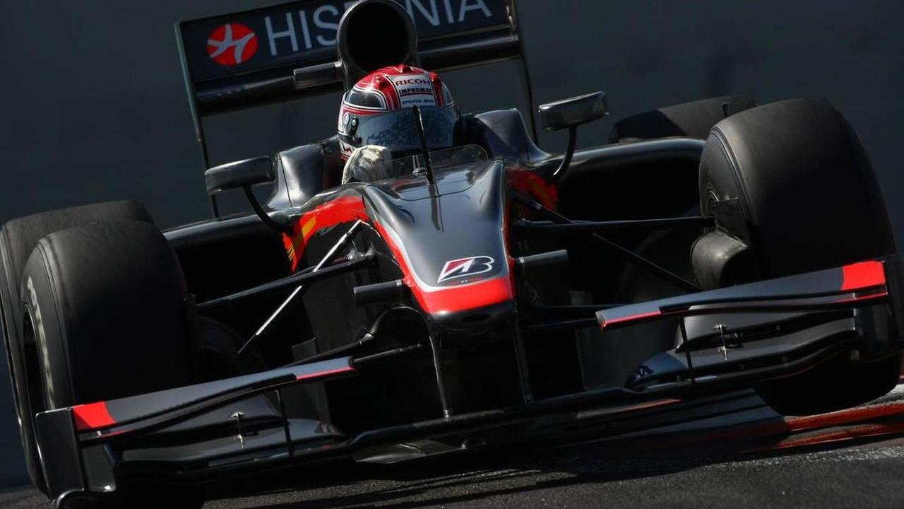Josef Kral (CZE), Hispania Racing F1 Team, HRT - Formula 1 Testing, Abu Dhabi, 17.11.2010