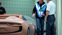 Audi e-tron Spyder concept development and design 25.10.2010