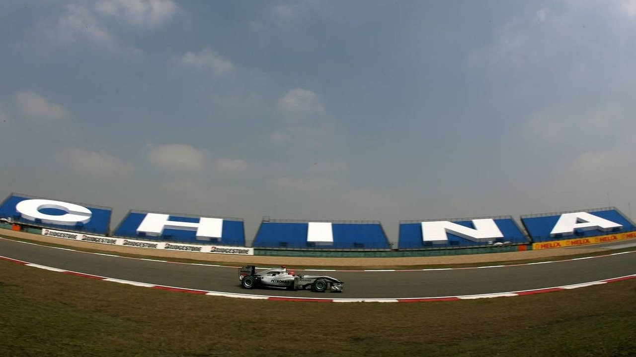 Michael Schumacher (GER), Mercedes GP Petronas, W01 - Formula 1 World Championship, Rd 4, Chinese Grand Prix, Friday Practice