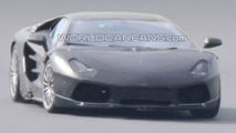 Lamborghini Jota Prototype Testing - the Murcielago replacement