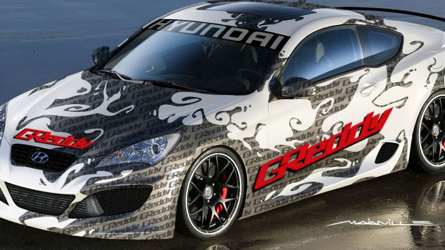 Hyundai Genesis Coupe by GReddy Announced for SEMA