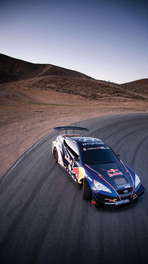 Hyundai and Red Bull Announce Rhys Millen Racing Drift Team Sponsorship at Chicago