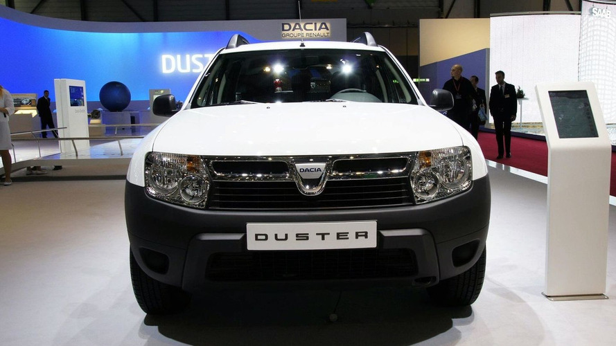 Dacia Announces UK Launch in 2012 - Duster Presented in Geneva