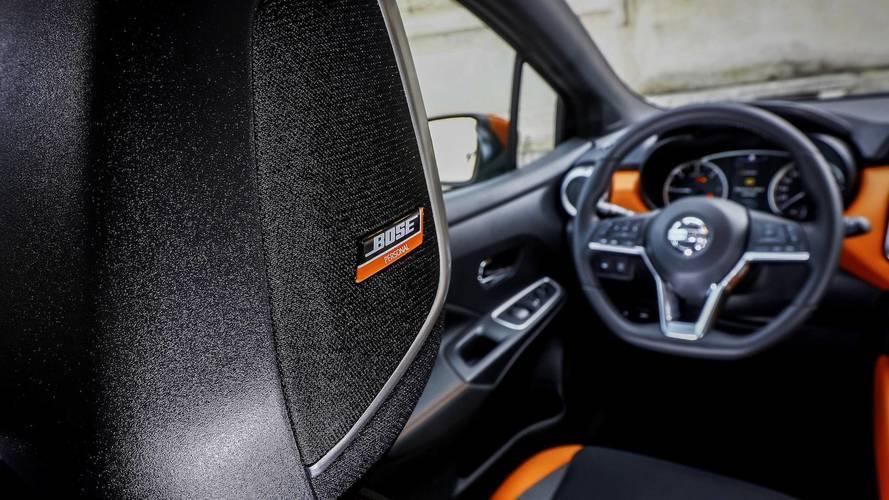 Nissan Micra, come suona il Bose Sound System