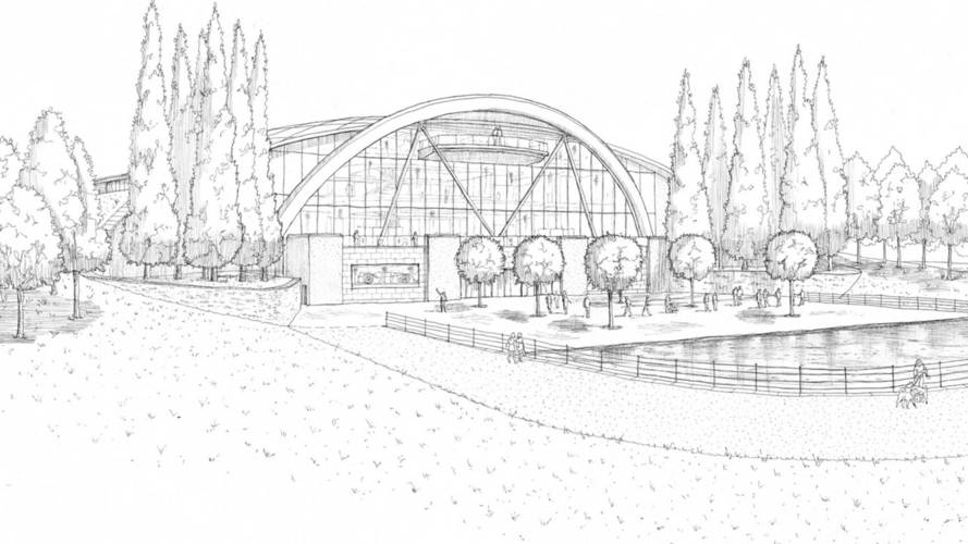 U.K. Car Museum sketch