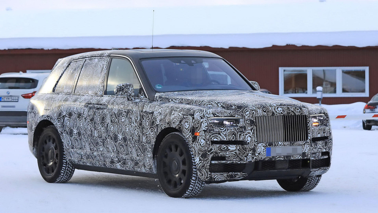 Rolls-Royce Cullinan 2018