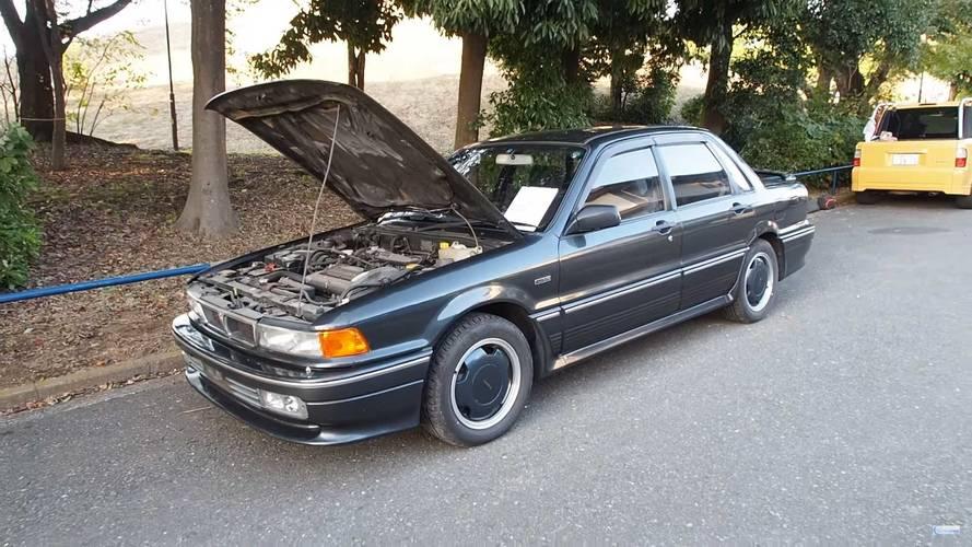 ¿Acaso no sabías que existía un Mitsubishi Galant preparado por AMG?