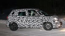 Fiat 500L restyling, le foto spia