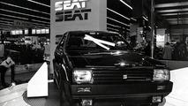 SEAT Ibiza in the Paris Motor Show 1984