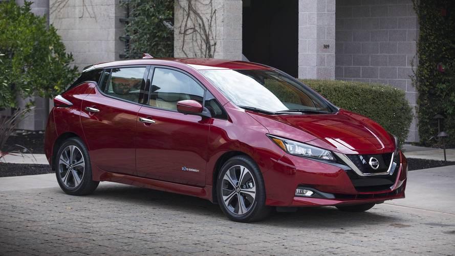 Továbbra is a Nissan Leaf Magyarország legnépszerűbb elektromos autója