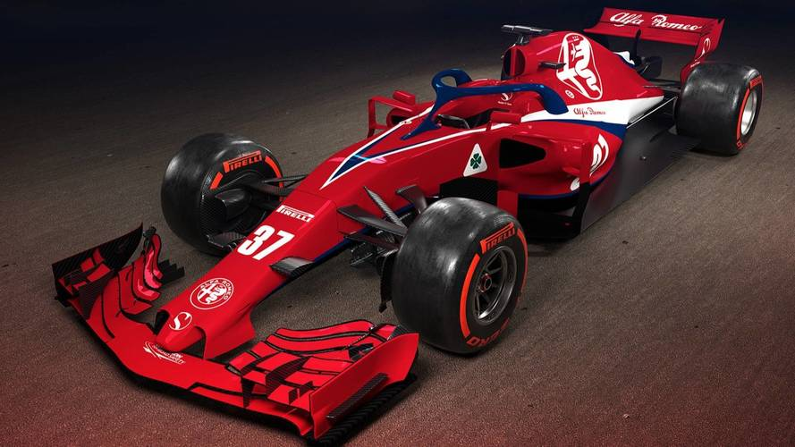 alfa romeo sauber f1 car render photos. Black Bedroom Furniture Sets. Home Design Ideas