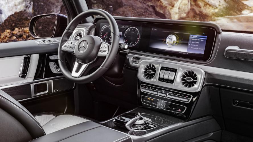 Nuova Mercedes Classe G, come cambiano gli interni