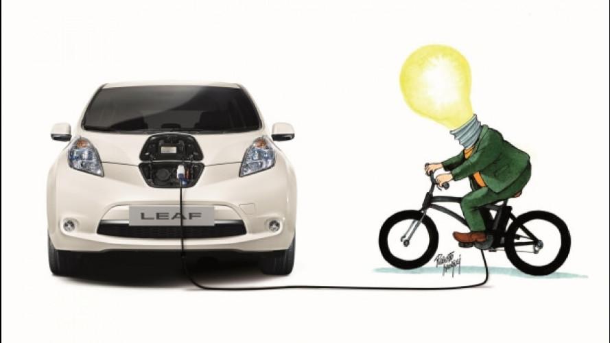 Nissan e DinamoBike scontano la Leaf di 1.000 euro