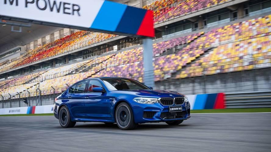 A sanghaji F1-pályán döntött körrekordot a BMW M5