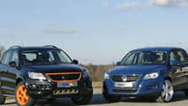 Two options for Tiguan baby VW SUV