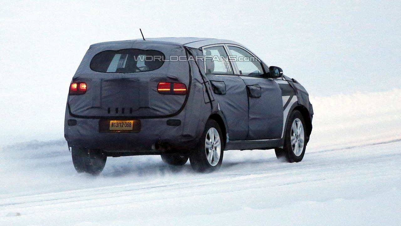 Kia Niro / Kia entry-level crossover spy photo