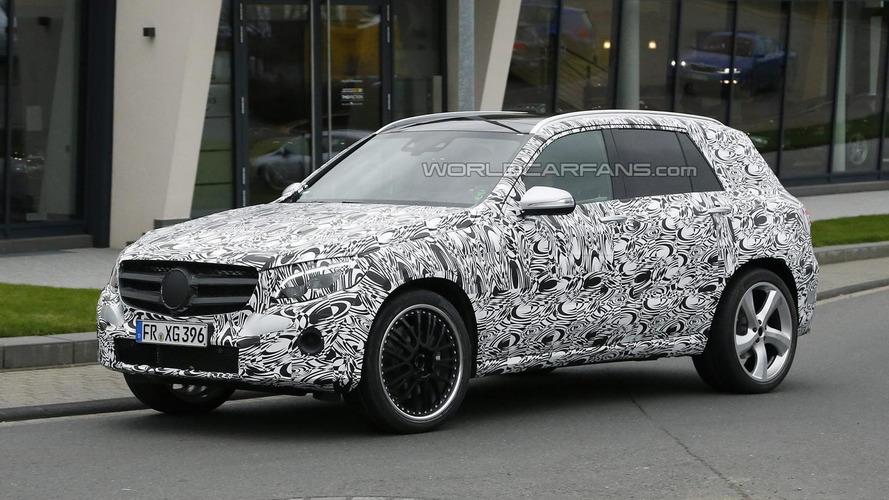 Mercedes-Benz GLC 63 AMG makes spy photo debut