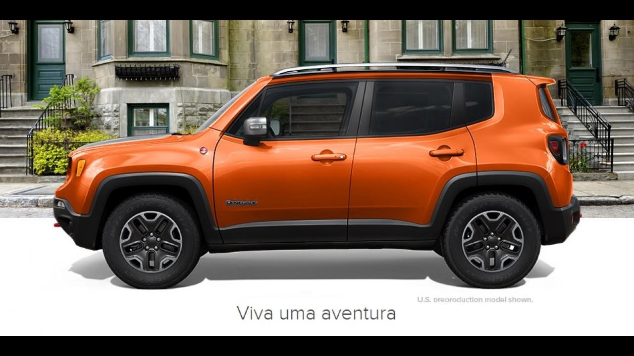 Jeep Renegade já passeia no RJ e vai entrar no Maracanã