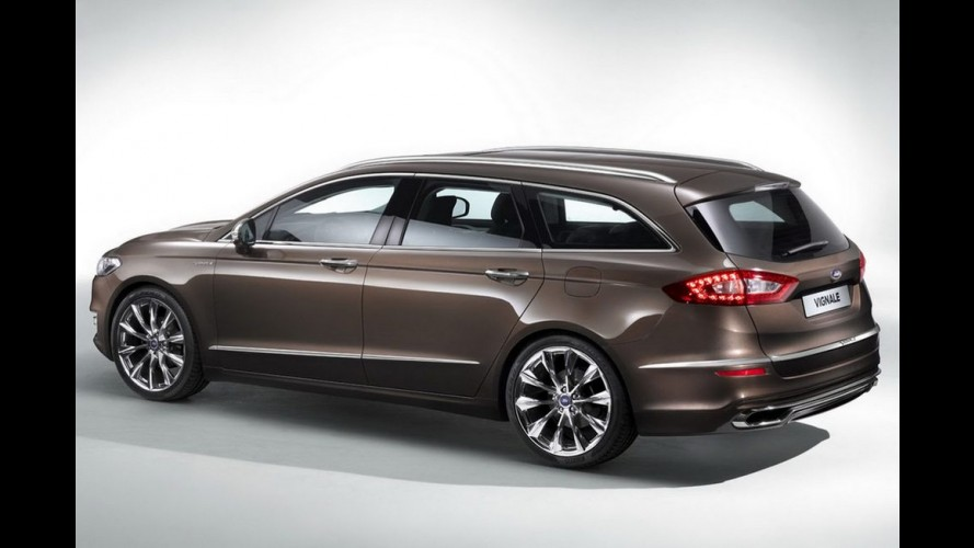 Ford Mondeo Vignale Concept antecipa linha premium para a Europa