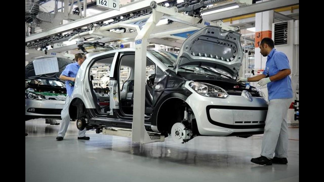 VW suspende terceiro turno e anuncia férias coletivas na fábrica de Taubaté